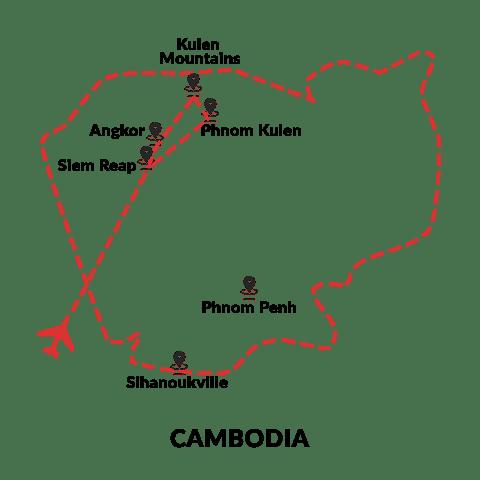 Angkor and Beyond 6D5N