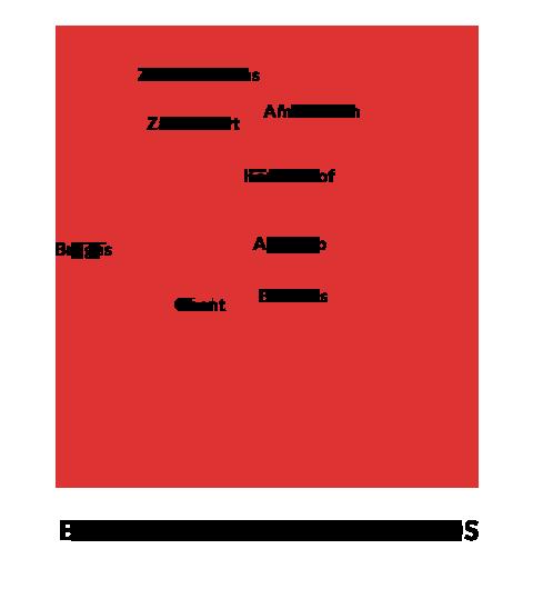 belgium & the netherlands map
