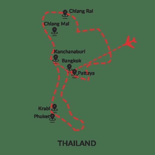Beyond Bangkok 6D5N