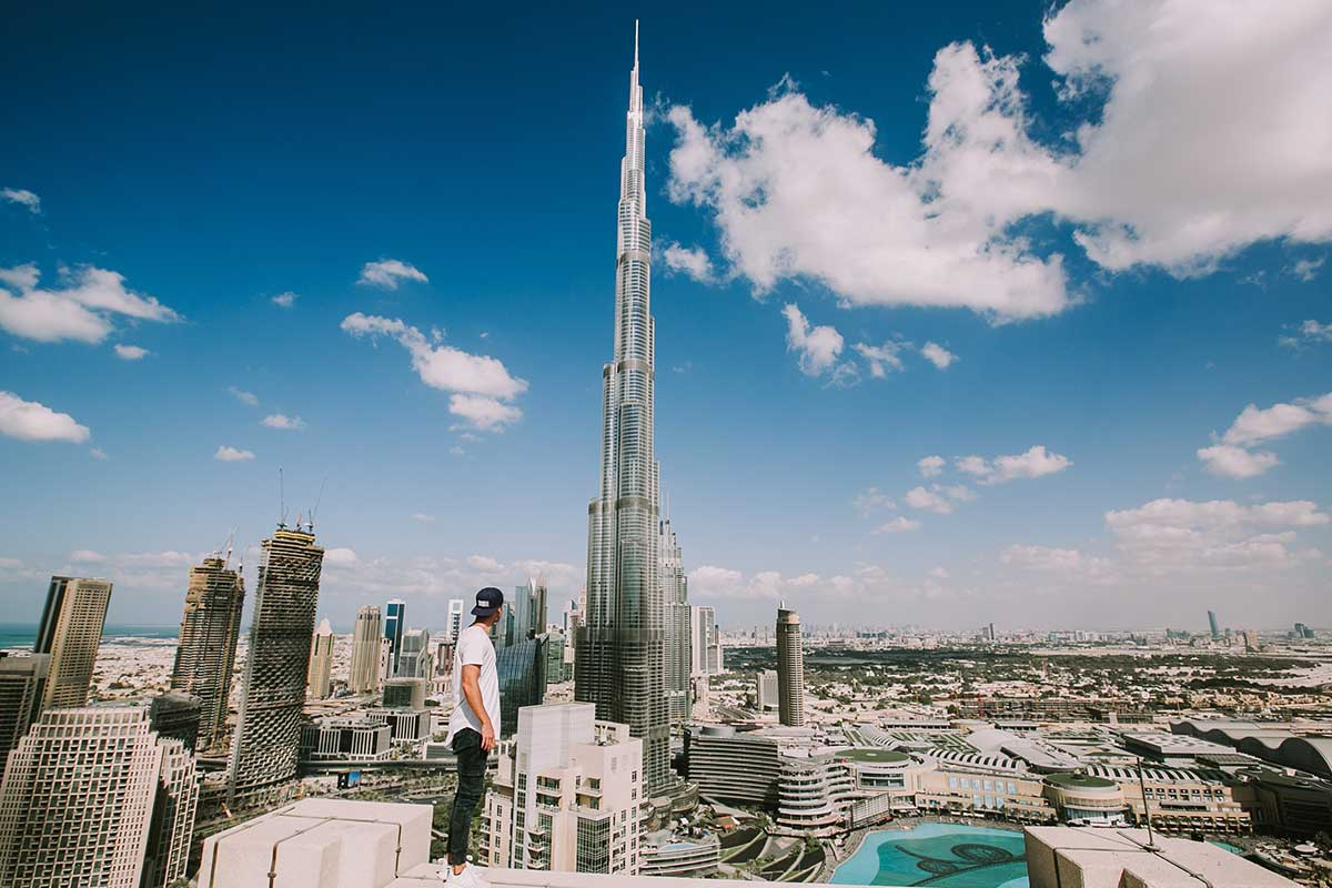Burj-Kalifa-Dubai,-United-Arab-Emirates