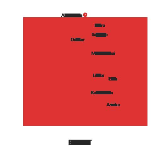 Egypt Map Outline