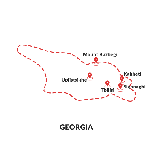 Map Of Kakheti Georgia.Discover The Gems Of Georgia Holiday Packages From Beyonder