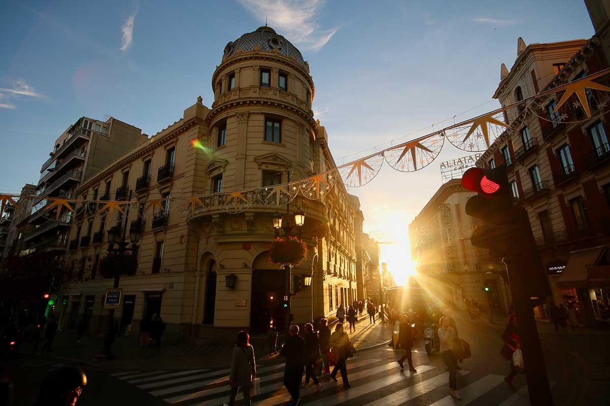 Hotel-Victoria-Puerta-real-Granada-Spain,-Granada,-Spain