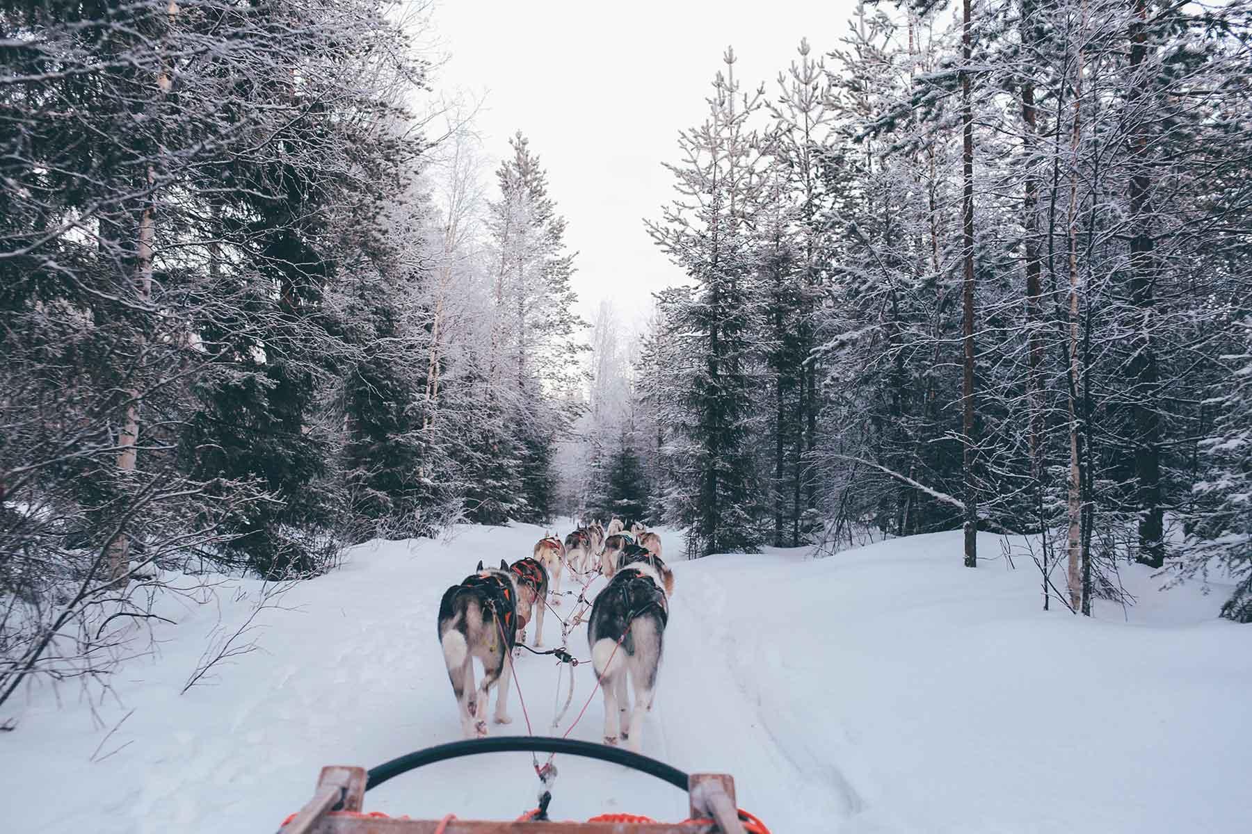 Santa-Claus-Village,-Rovaniemi,-Finland
