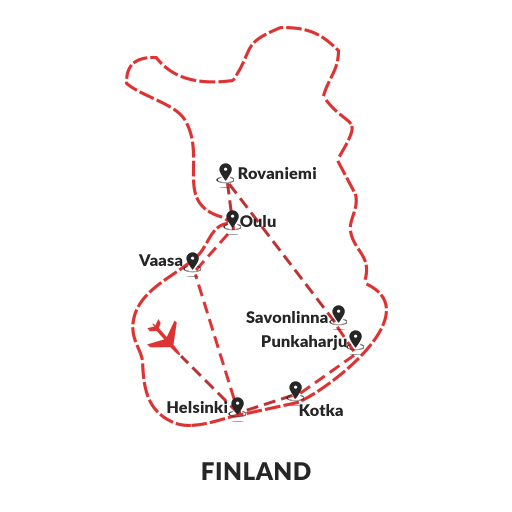 The Face of Finland 11D10N