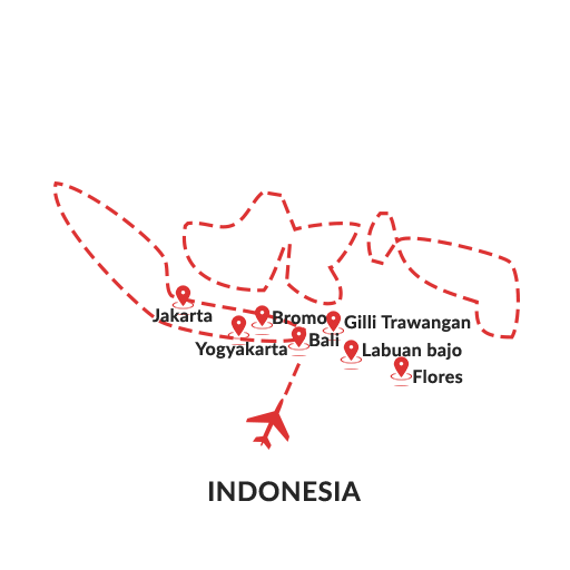 walk with the dragon indonesia