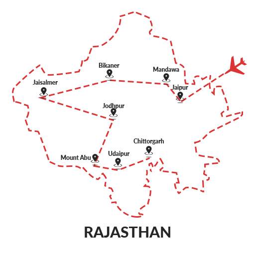 Forts & Palaces of Rajasthan 13D12N