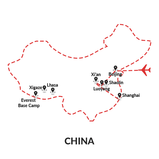 Immersive in China 12D11N