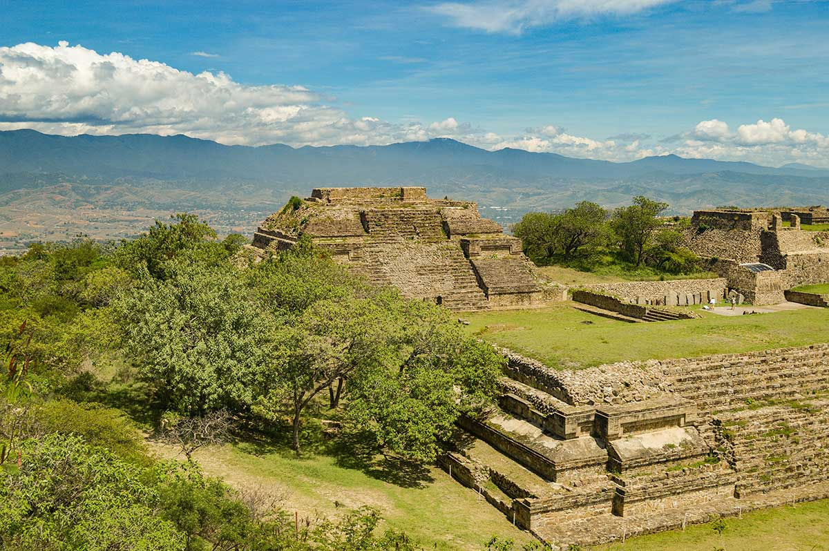 Monte-Alban,-Oaxaca,-Mexico