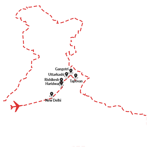 Sources of the Ganges Trek 8D7N
