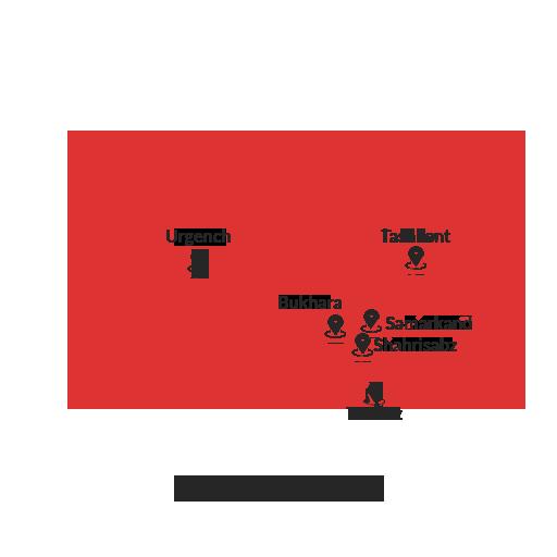 Uzbekistan –The Buddhist Trail 8D7N