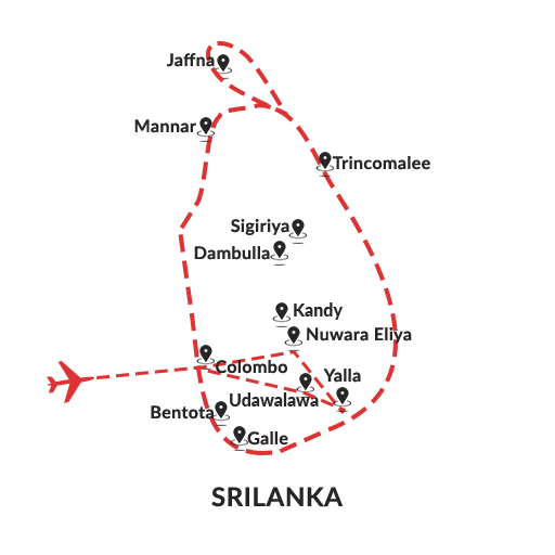 Wild Lanka 7D6N