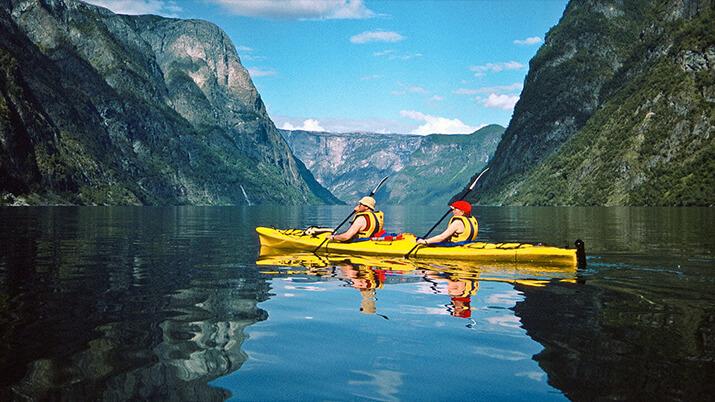 Fjords-Kayaking